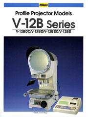 Nikon V-12B Series Profile Projector
