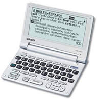 Casio EW-S100 Translation Dictionaries
