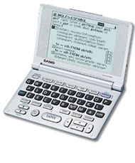 Casio EW-S2000 Translation Dictionaries