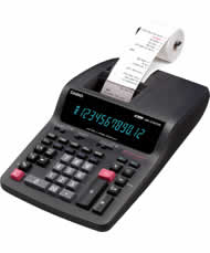 Casio DR-270TM Printing Calculator