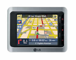 LG LN730 Portable Digital Navigator