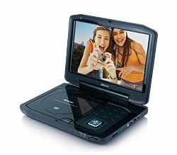 Memorex MVDP1102 Portable DVD Player