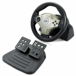 Genius Twin Wheel F1 Racing Wheel