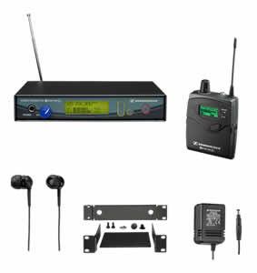 Sennheiser ew 300 IEM G2 Wireless Monitor Set