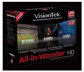 VisionTek All-in-Wonder HD Graphics Card
