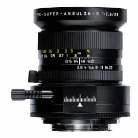 Leica PC-Super-Angulon-R 28 mm f/2.8 Lens