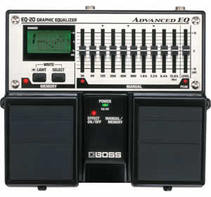 Boss EQ-20 Advanced EQ Graphic Equilizer