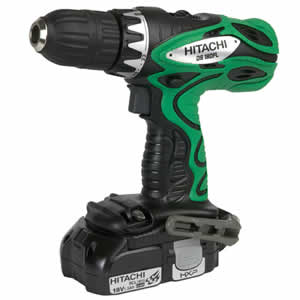 Hitachi DS18DFLPC Lithium Ion Driver Drill