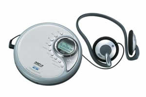 JVC XL-PM6 Portable CD Player