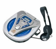 JVC XL-PV350 Personal CD Player