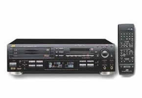 JVC XU-301 MD CD Combination Deck