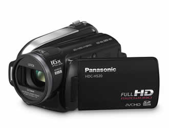 Panasonic HDC-HS20 Hard Disk Drive/SD Card Hybrid Full-HD Camcorder