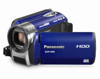 Panasonic SDR-H80 60GB HDD/SD Card Standard Definition Camcorder