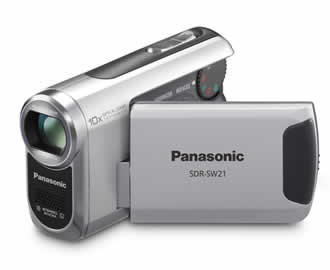 Panasonic SDR-SW21 SD Card Standard Definition Camcorder