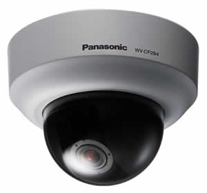 Panasonic WV-CF284 Compact Mini-dome Color Camera