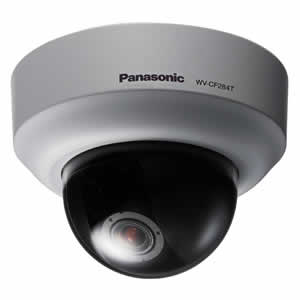 Panasonic WV-CF284T Compact Mini-dome Color Camera