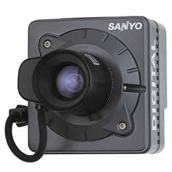 Sanyo VCC-5884E High Resolution Camera