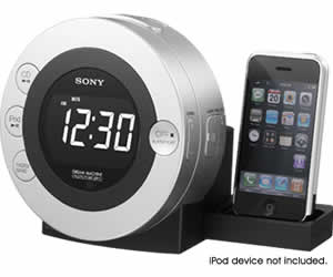 Sony ICF-CD3IPSIL CD Clock Radio