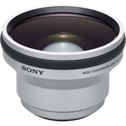 Sony VCL-HGD0758 58mm 0.7X Wide Angle Conversion Lens