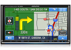 Alpine IVA-W505/P1 All-in-one Navigation/Audio/Video System
