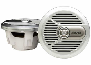 Alpine SPR-M700 Coaxial 2-Way Marine Speaker