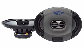 Alpine SPS-609 Coaxial 2-Way Speaker