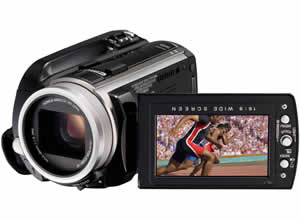 JVC Everio GZ-HD10 Hard Disk Camcorder