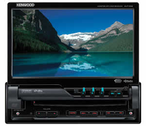 Kenwood KVT-512 Full Featured DVD Entertainment System