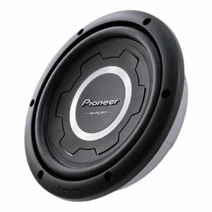 Pioneer TS-SW2501S2|S4 Shallow-Mount Subwoofer