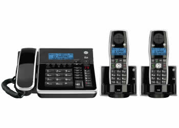 GE 28871FE3 DECT 6.0 Corded/Cordless Expandable Phone