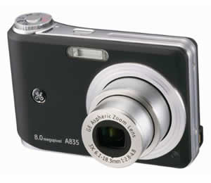 GE A835 Digital Camera