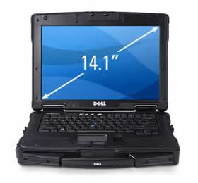 Dell Latitude E6400 XFR Fully Rugged Laptop