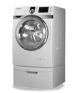 Samsung WF419AAW Front Load Steam Washer