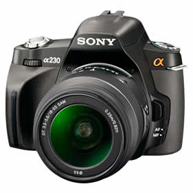 Sony DSLR-A230L Digital Camera