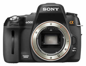 Sony DSLR-A500 Digital Camera Body