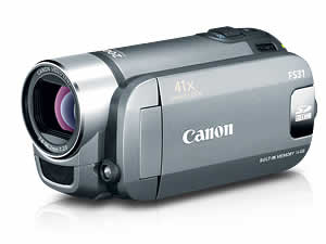 Canon FS31 Dual Flash Memory Camcorder